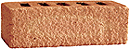 Golden Peach Color Rock Face Clay Brick