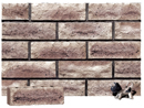 Granite Color Rockface Brick with Clinker Shade