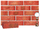 Super Red Color Sandblast Brick