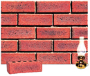 Golden Red Color Sandblast Brick Clinker Shade