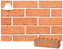 Golden Peach Color Sandblast Brick