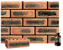 Golden Peach Color Sandblast Brick with Dark Clinker Shade