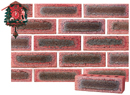 Lavender Color Sandblast Brick with Dark Clinker Shade